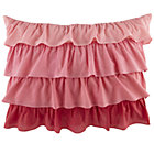 Fade to Pink Ruffle Sham